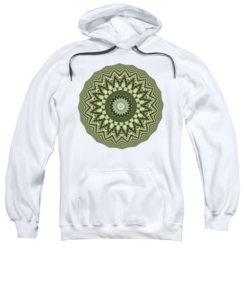 Dome Of Chains Mandala By Kaye Menner Sweatshirt