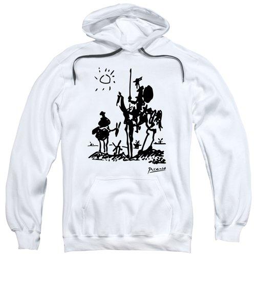 Don Quixote -  1955 Artwork Reproduction Sweatshirt