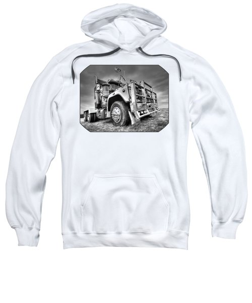 Done Hauling - Black And White Sweatshirt