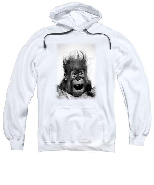 Don't Panic Sweatshirt by Miro Gradinscak