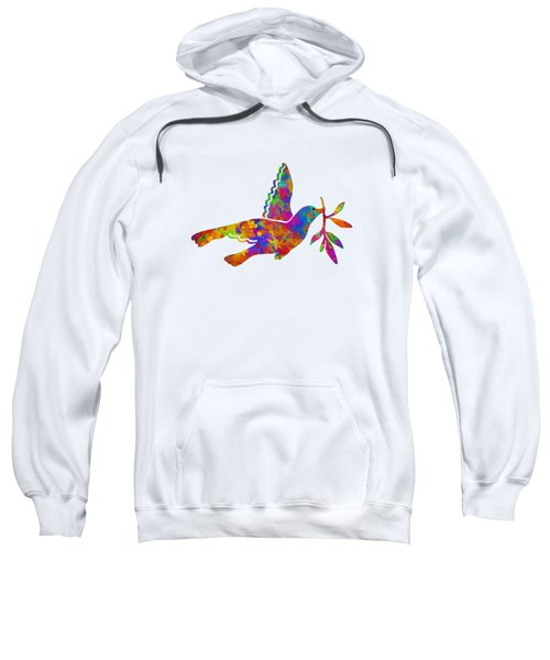 Dove With Olive Branch Sweatshirt