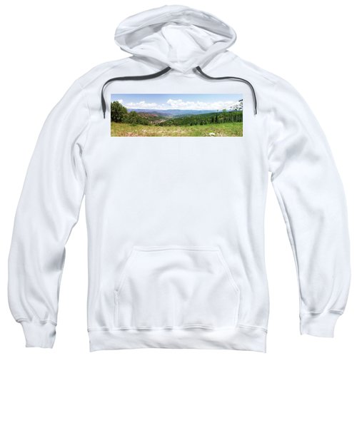 Down The Valley At Snowmass #2 Sweatshirt
