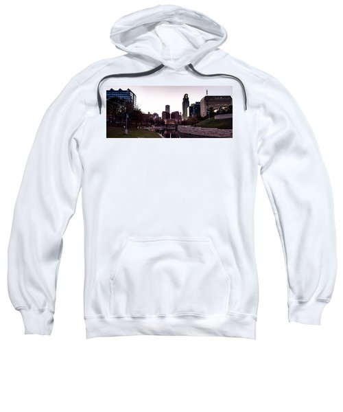 Downtown Omaha At Sunset Sweatshirt