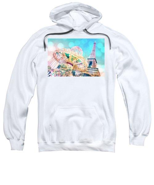 Dreamy Pastel Carousel Sweatshirt