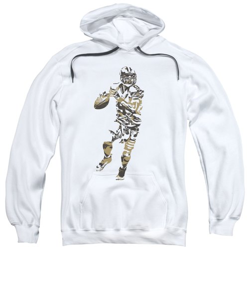 Drew Brees New Orleans Saints Pixel Art T Shirt 1 Sweatshirt