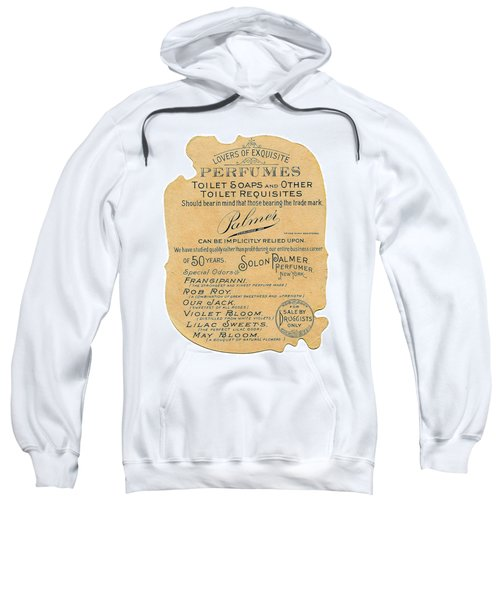 Sweatshirt featuring the photograph Druggists by ReInVintaged