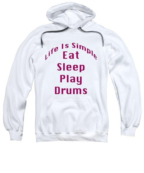 Drums Eat Sleep Play Drums 5514.02 Sweatshirt