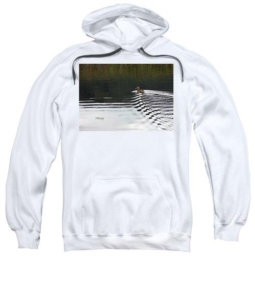 Duck On Ripple Wake Sweatshirt