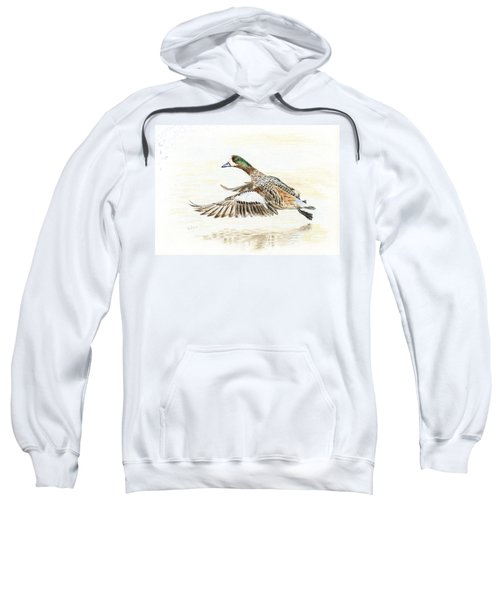 Duck Taking Off. Sweatshirt