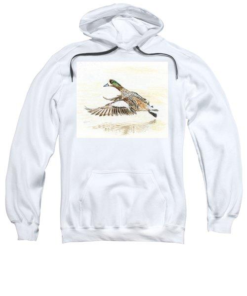 Duck Taking Off. Sweatshirt