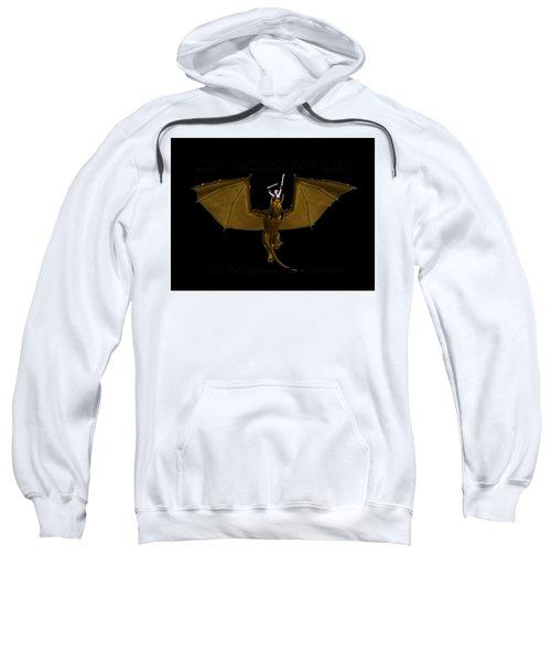 Dunjon T-shirt Print 2 White Sweatshirt