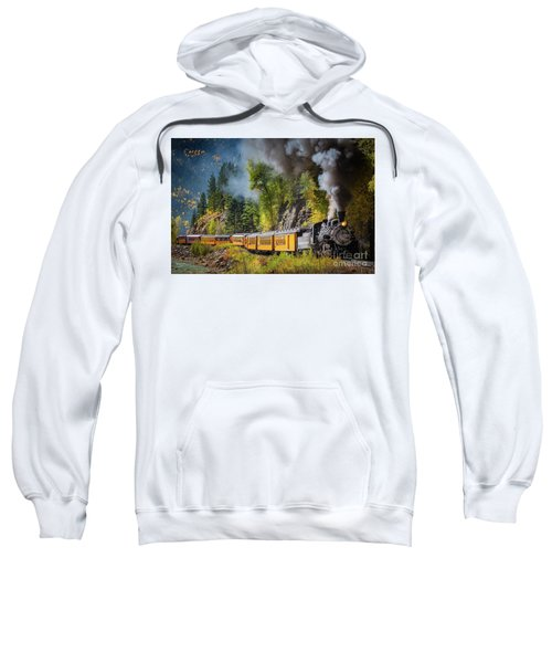 Durango-silverton Narrow Gauge Railroad Sweatshirt