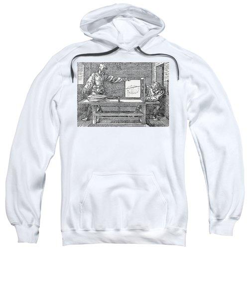 Durers Perspective Drawing Of A Lute Sweatshirt