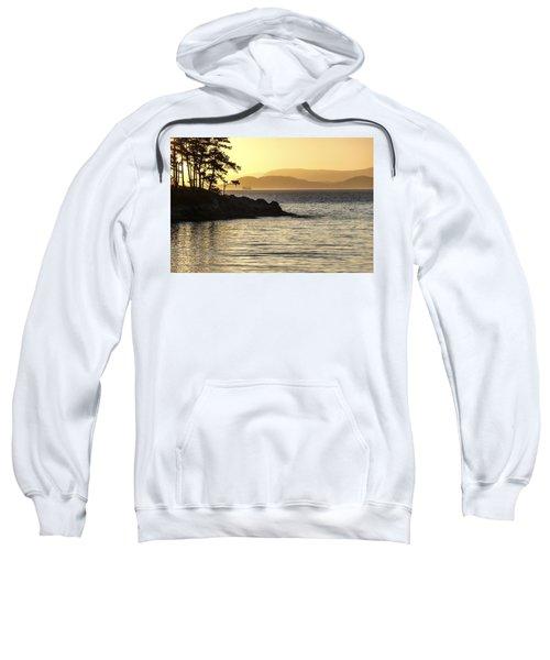Dusk On Sucia Island Sweatshirt