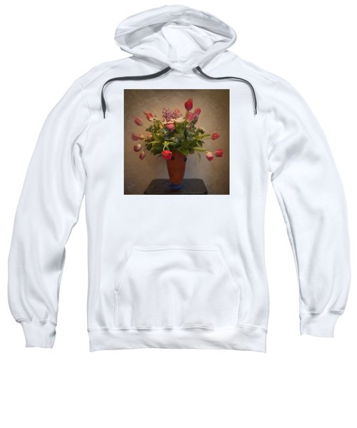 Dutch Flowers Blooming Sweatshirt