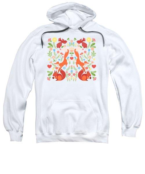 Early Fall Festival Flower Frolic  Sweatshirt