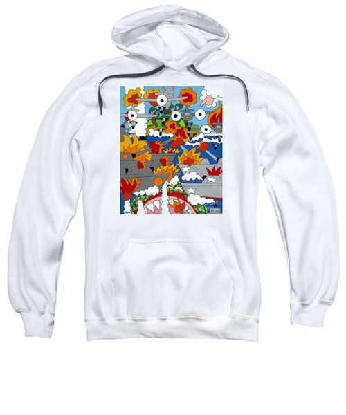 East Meets West Sweatshirt