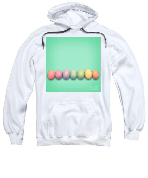 Easter Eggs, Green Sweatshirt