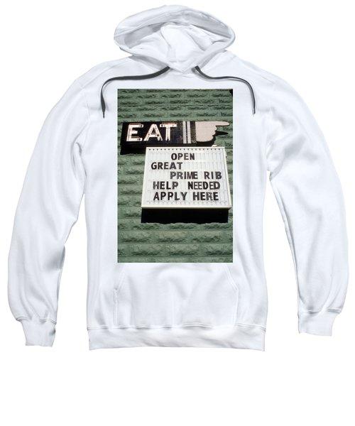 Eat Sign Sweatshirt