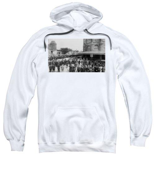 Ebbets Field Crowd 1920 Sweatshirt