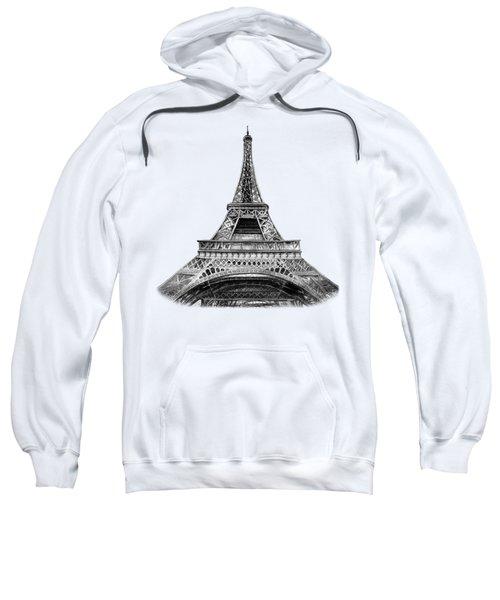 Eiffel Tower Design Sweatshirt