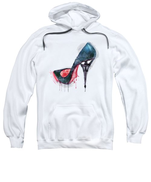 Eiffel Tower Shoe Sweatshirt
