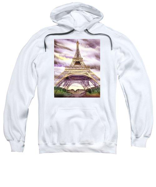 Eiffel Tower Summer In Paris Sweatshirt