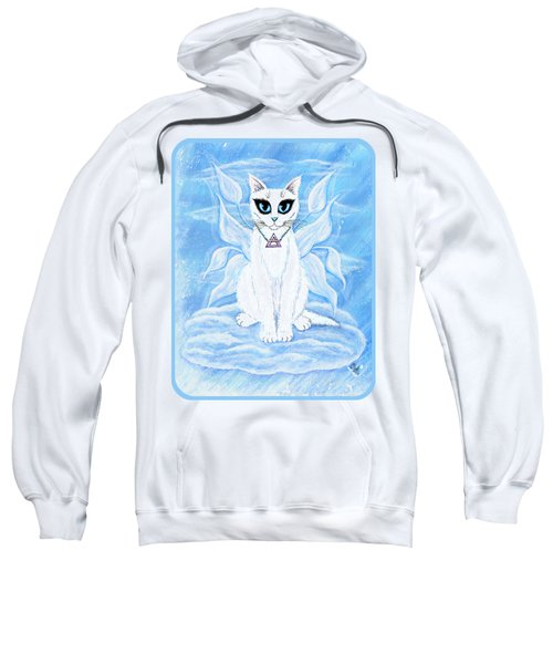 Elemental Air Fairy Cat Sweatshirt