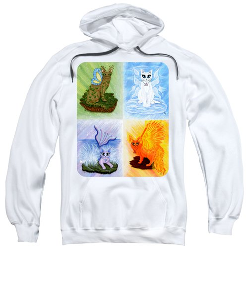 Elemental Cats Sweatshirt