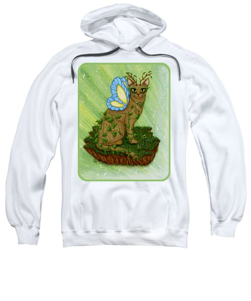 Elemental Earth Fairy Cat Sweatshirt