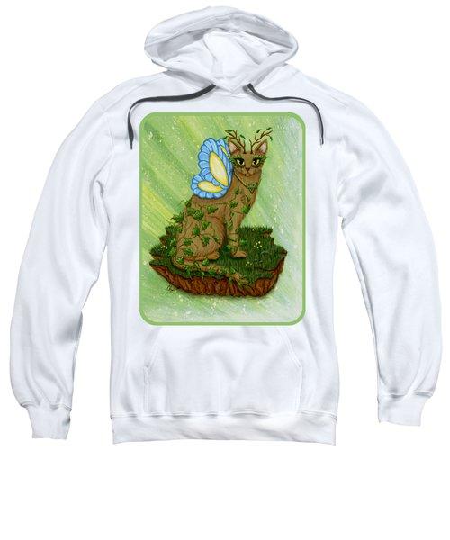 Elemental Earth Fairy Cat Sweatshirt
