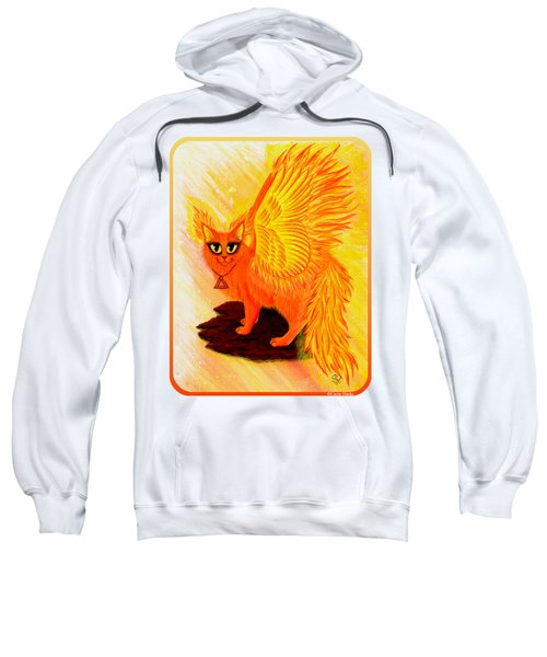 Elemental Fire Fairy Cat Sweatshirt