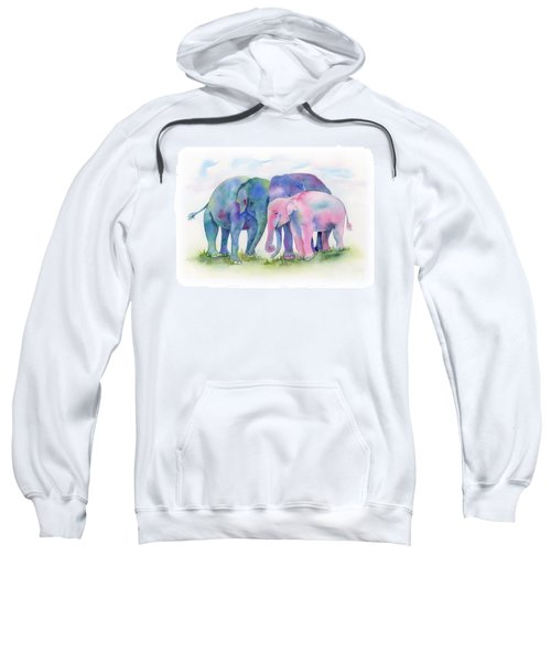 Elephant Hug Sweatshirt