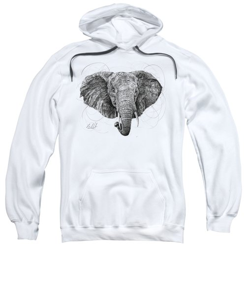 Elephant Sweatshirt by Michael Volpicelli