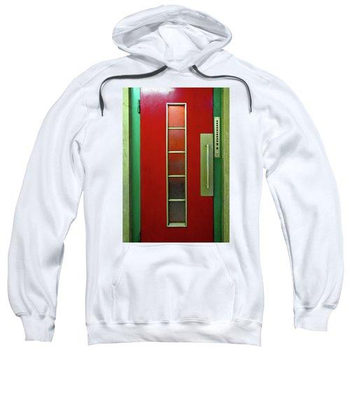 Elevator Door  Sweatshirt