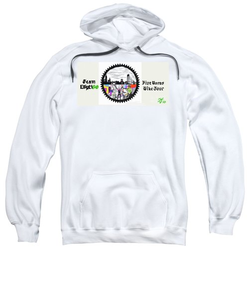 elliptiGO meets the 5 boros bike tour Sweatshirt