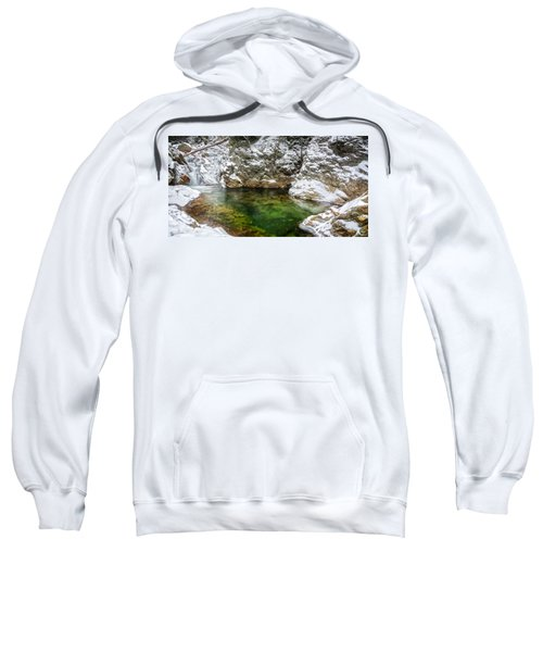 Emerald Pool Ellis River Nh Sweatshirt