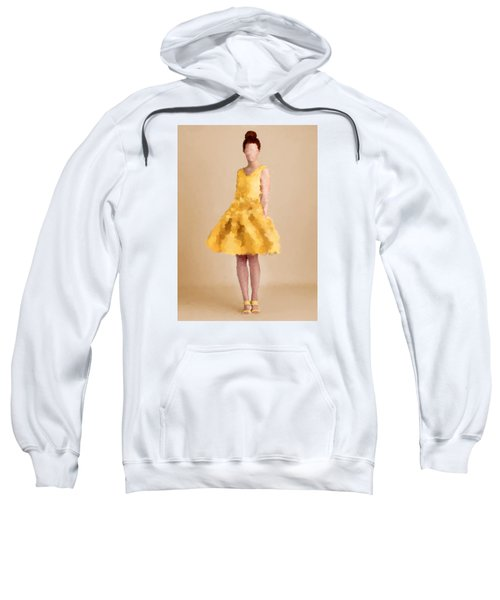 Sweatshirt featuring the digital art Emma by Nancy Levan
