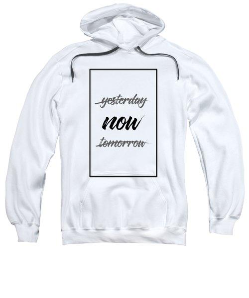 Emotional Art Now - Black And White Sweatshirt