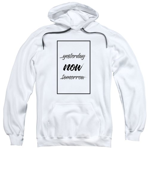 Emotional Art Now - Black And White Sweatshirt