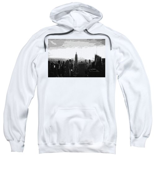 empire state building in Manhattan, ny Sweatshirt