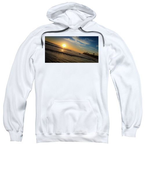 End Of Summer Sunset Surf Sweatshirt