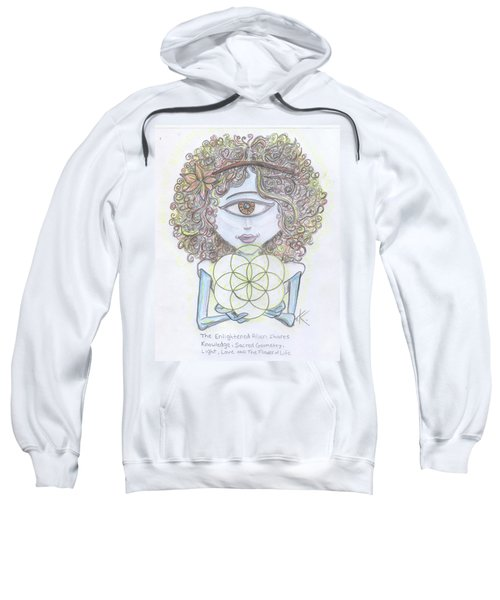 Enlightened Alien Sweatshirt