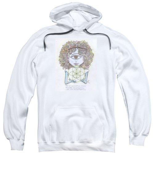 Enlightened Alien Sweatshirt