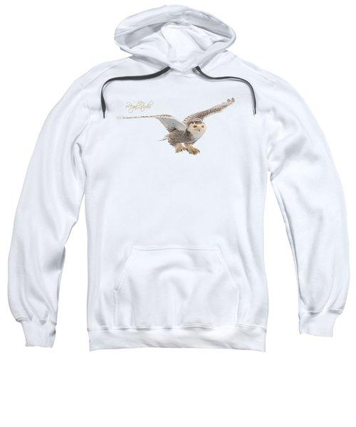 eRegal Studio Snowy Owl graphic Sweatshirt