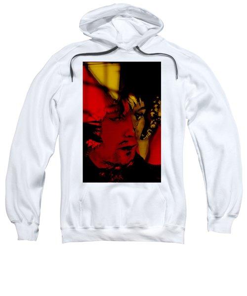Eric Clapton Art Sweatshirt by Marvin Blaine
