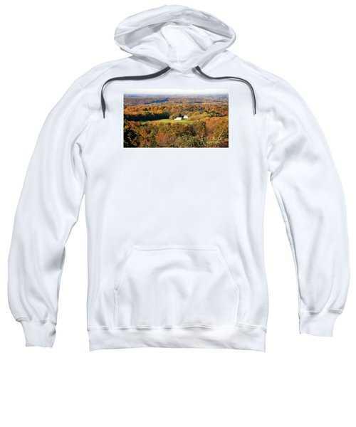 Sweatshirt featuring the photograph Erin Wisconsin  by Ricky L Jones