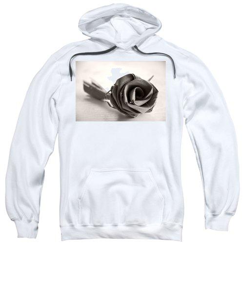 Eternal Rose In Sepia Sweatshirt
