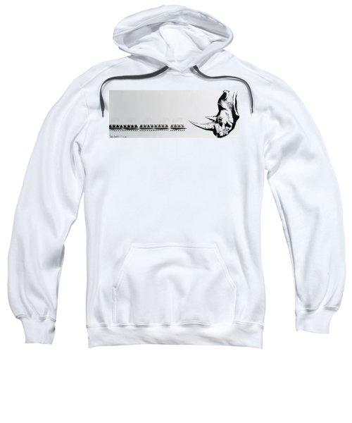 Ethnic Rhino Sweatshirt