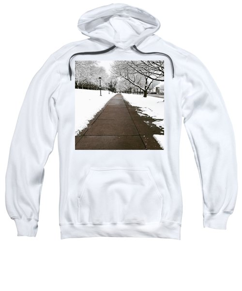 Winter Walks  Sweatshirt by Cyrionna The Cyerial Artist